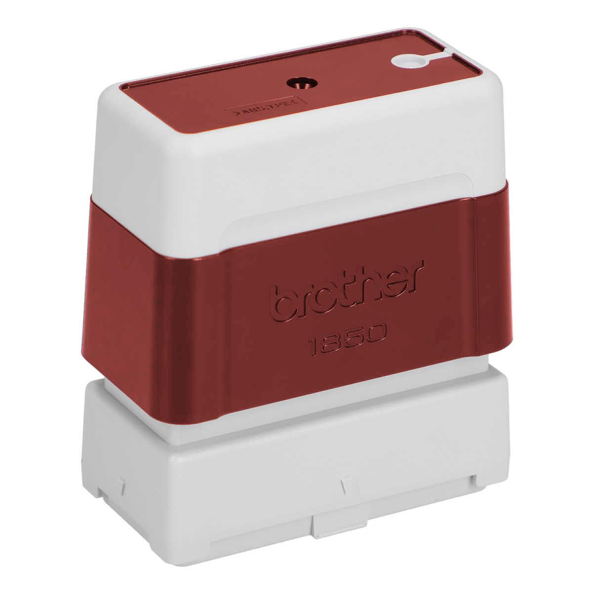 ブラザー 住所印スタンプ 印面サイズ16×48mm 赤インク